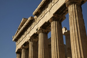 Parthenon in Acropolis Athens Greece