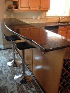 granite bar countertop