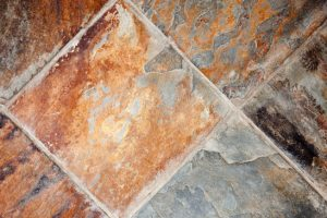 Richly Colored Decorative Stone Floor or Wall Tiles.
